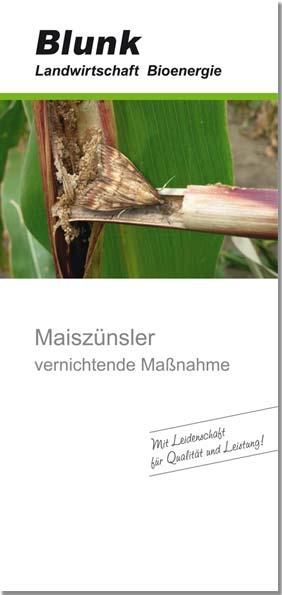 Blunk-Folder-Maiszuensler-Titelseite