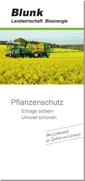 Blunk Folder Pflanzenschutz -Titelseite