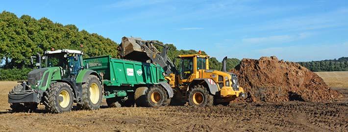 Blunk Landwirtschaft Klärschlamm Verwertung