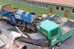 Blunk Rübenwaesche Biomasseaufbereiter