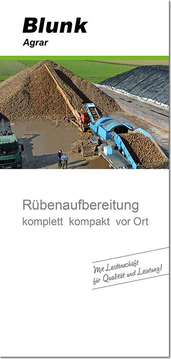 Blunk Folder Rübenwäsche