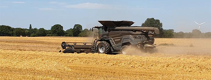 Blunk Getreide Ernte komplett