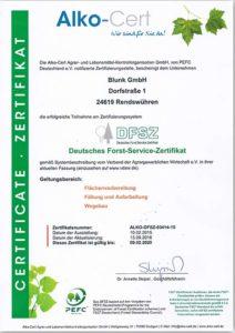 Blunk-DFSZ-Zertifikat-2016-titel