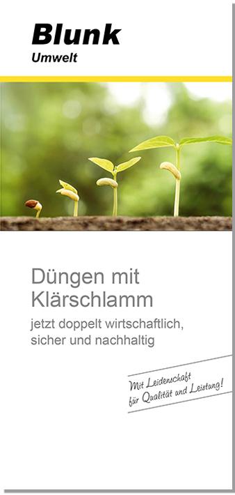 Blunk Folder Klärschlamm