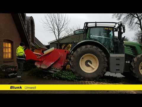 Blunk fräst Stubben mit Supersoil, Vario 936 und Feingefühl