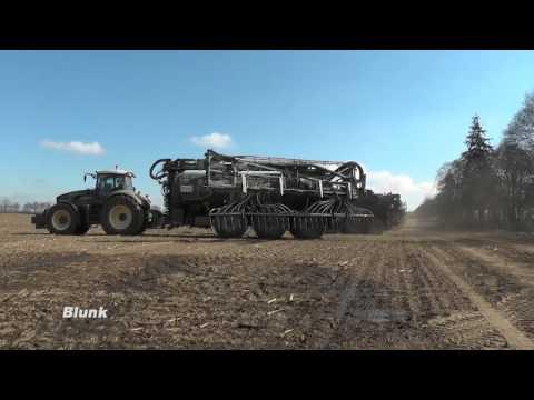 Gülle-Ausbringung bei Blunk mit Agrar-Giganten