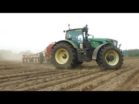 Lohnunternehmen Blunk am Mais legen | 2018 | Fendt 936 | Horsch