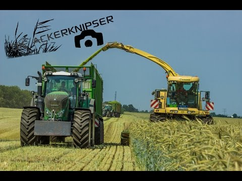 BLUNK | GPS 2015 | BiG X 1100 | Fendt Tractors | 3 axle Silagetipper