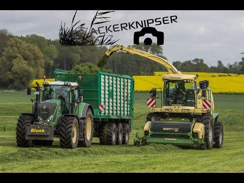 Lohnunternehmen Blunk | Krone BIG X | Fendt Katana | Big Grass Silage !!