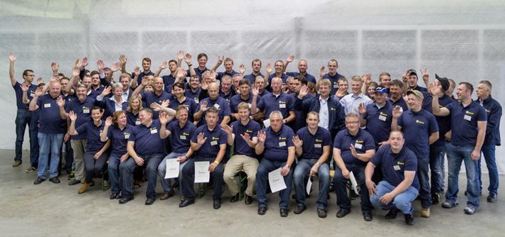 Das Blunk-Team Lalendorf