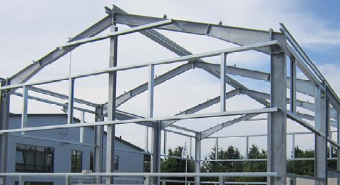 Schnappschuss Baufortschritt im Juli 2014 bei Blunk in Lalendorf