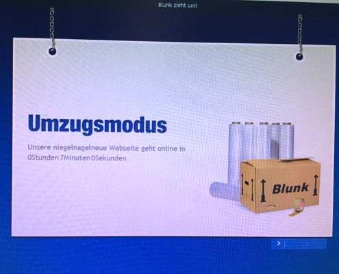Countdown läuft: Umzug der Blunk-Webseite 2014
