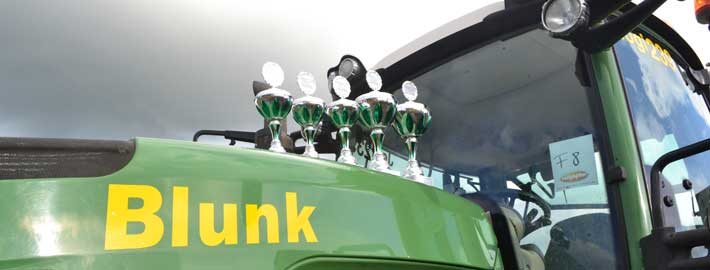 Blunk gewinnt 5 Pokale beim Trecker Treck 2014