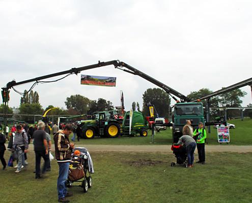 Blunk auf dem Landeserntedankfest im Elbauenpark in Magdeburg 2014 - 1
