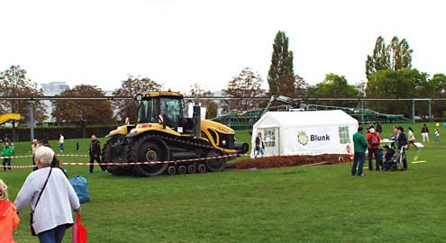 Blunk auf dem Landeserntedankfest im Elbauenpark in Magdeburg 2014 - Titel