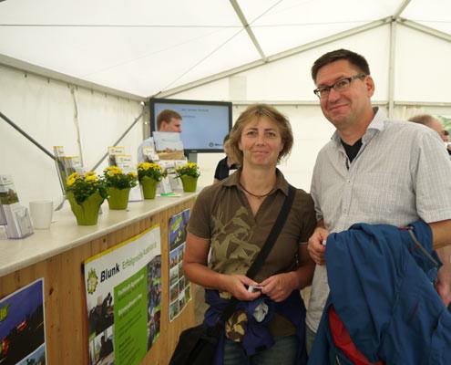 Blunk auf der Norla 2014: Besucher