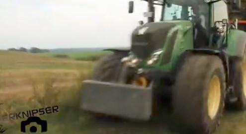 Video von Ackerknipser: Blunk bei der Maisernte in Lalendorf
