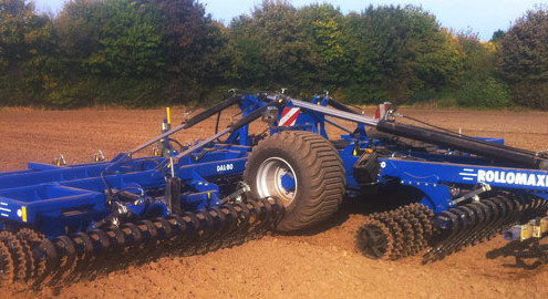 Blunk neues Bodenbearbeitungsgerät Dalbo - Titel 2
