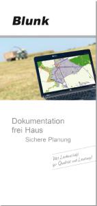 Blunk Folder Dokumentation - Titelseite