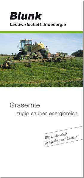 Blunk Folder Gras - Titelseite