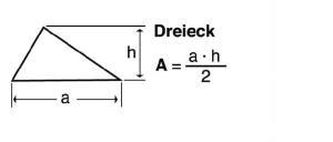 Blunk Formelsammlung Berechnung Dreieck