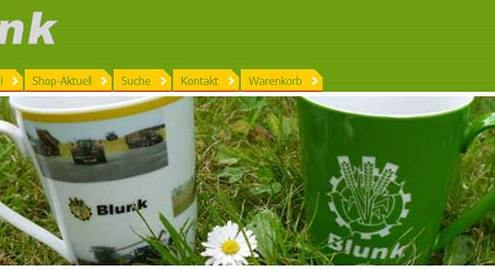 Blunk Shop Screenshot - titel