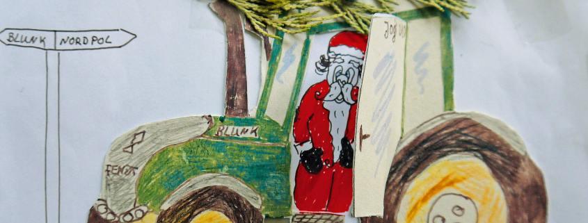 Blunk Weihnachtsbild - titel