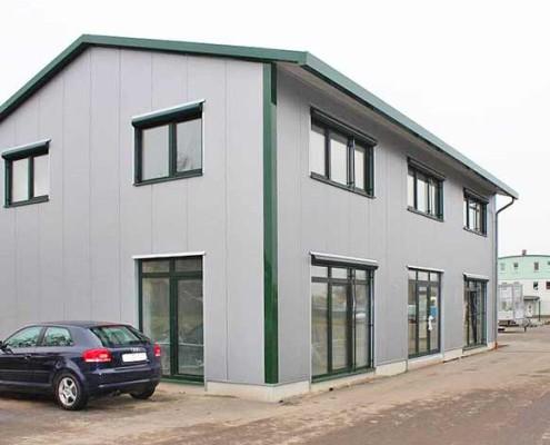 Blunk Lalendorf Einzug Bürogebäude -1