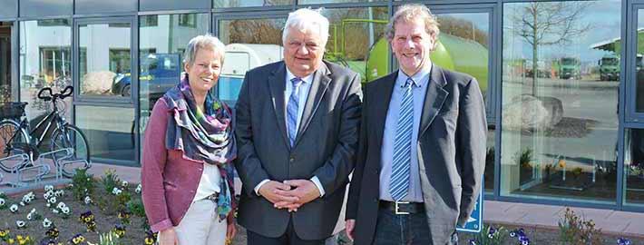 Blunk Umweltpreis Verleihung Norbert Stock