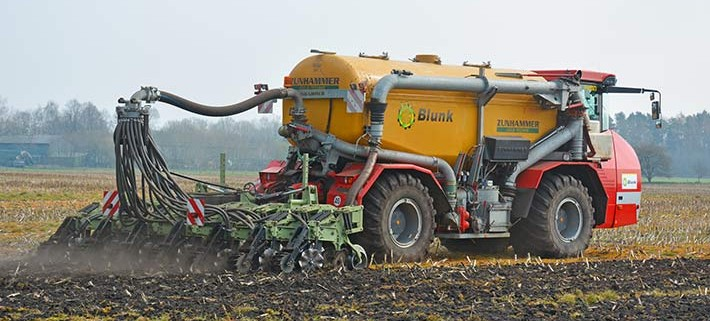 Blunk Gülle-Technik Strip Till