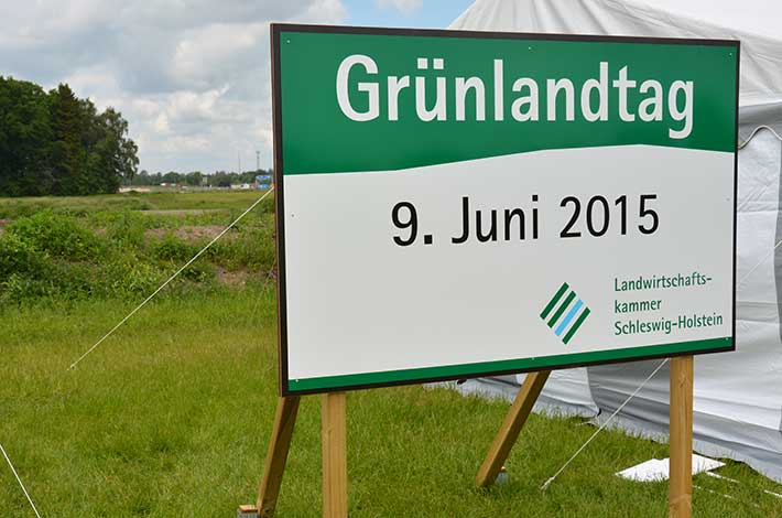 Blunk auf dem Grünlandtag der Landwirtschaftskammer Schleswig-Holstein