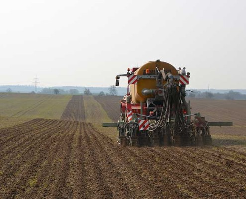 Precision-farming Tag auf Gut Helmstorf - mit Blunk