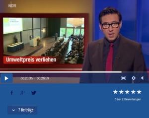 Blunk Vergabe Umweltpreis NDR