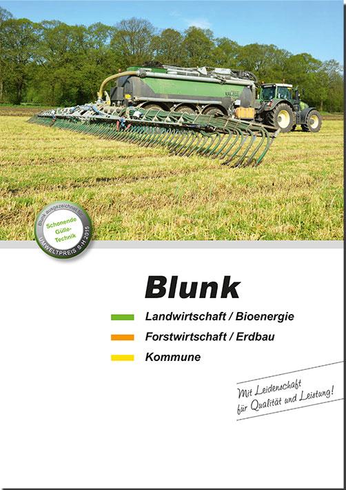 Blunk Broschüre A4 -titel