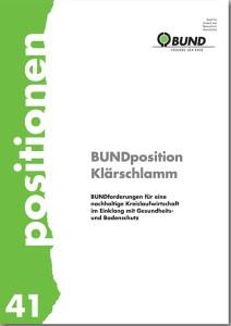 Blunk Flyer Klärschlamm Bundposition -titel