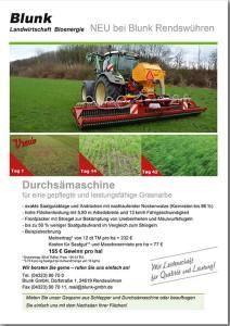 Blunk Vredo Grünlandschlitze Flyer -titel