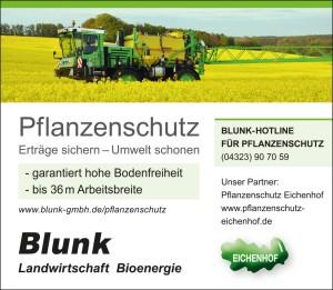 Blunk Anzeige Pflanzenschutz