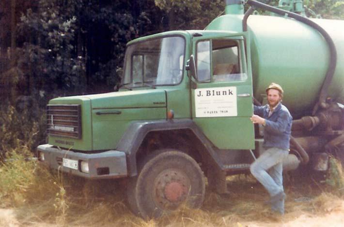 Blunk 35 Jahre Saugwagen 1 Magirus Deutz 1982