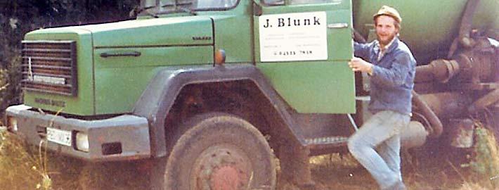Blunk 35 Jahre -titel