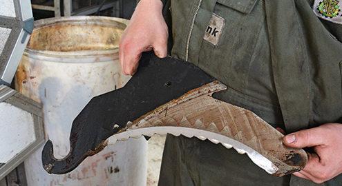 Blunk Werkstatt Messer schärfen -titel