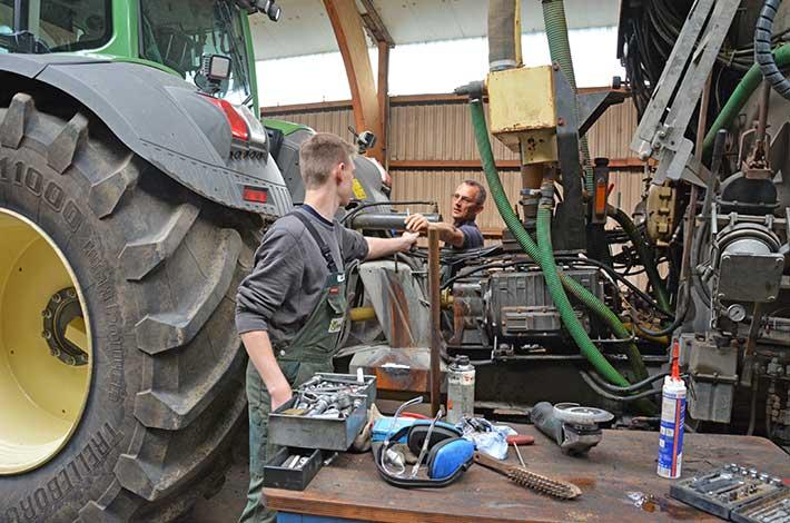 Blunk Ausbildung Fachkraft Agrar 2016 neue Azubis