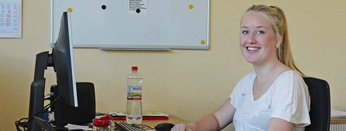 Blunk Ausbildung Bürokauffrau Franziska