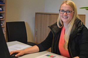 Blunk Ausbildung Bürokauffrau Julia