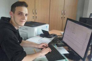 Blunk Ausbildung Bürokaufmann Marcel
