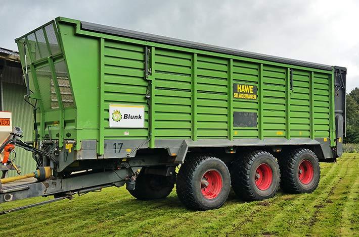 Blunk Maschine HAWE SWL 50 Häckselwagen