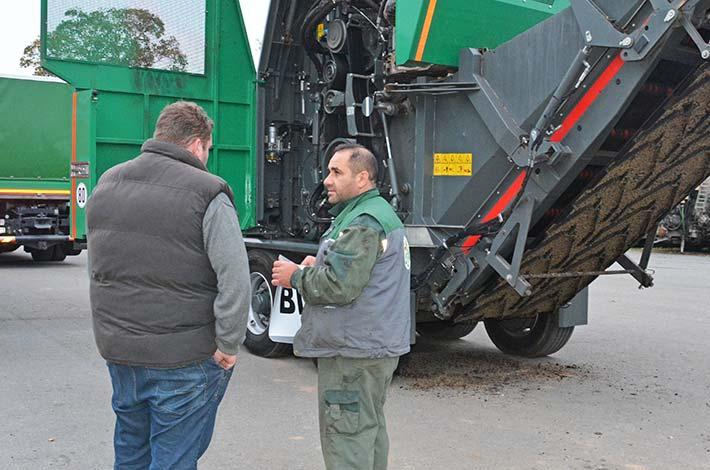Blunk Biomasse Aufbereiter