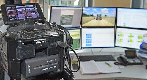 Blunk Videodreh Landtechnikvideo