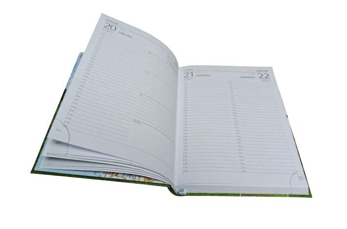 Blunk-Kollektion Buchkalender 2017