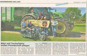 Blunk Zeitungsbericht PolizeiSportSchau Kiel