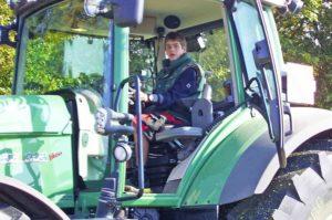 Blunk Fachkraft Agrarservice Praktikum 2009